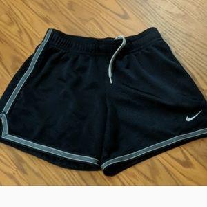 Nike girls athletic shorts in navy
